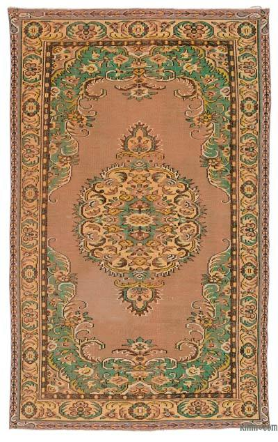 """Turkish Vintage Area Rug - 6' 2"""" x 9' 10"""" (74 in. x 118 in.)"""