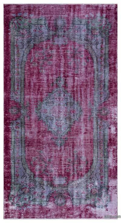 "Turkish Vintage Area Rug - 4'11"" x 8'10"" (59 in. x 106 in.)"