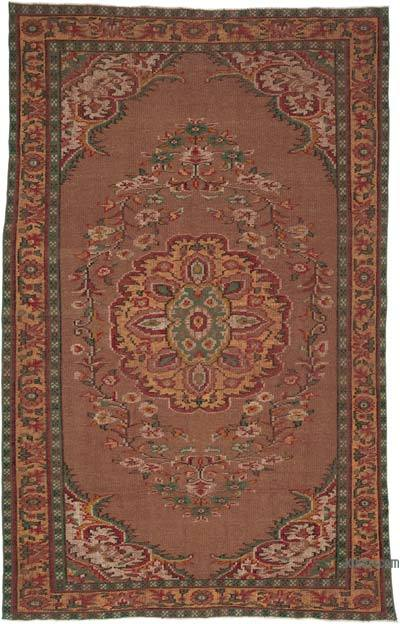 """Turkish Vintage Area Rug - 6'  x 9' 3"""" (72 in. x 111 in.)"""