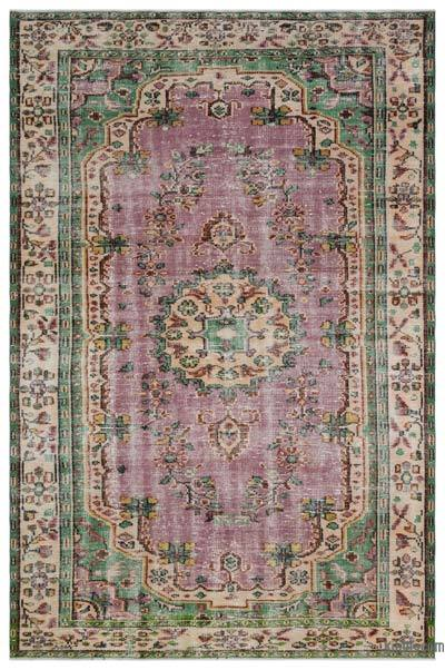"""Turkish Vintage Area Rug - 5'10"""" x 8'11"""" (70 in. x 107 in.)"""