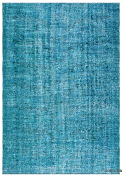 "Over-dyed Turkish Vintage Rug - 6'  x 8' 10"" (72 in. x 106 in.)"