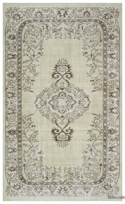 "Over-dyed Turkish Vintage Rug - 5' 6"" x 9' 1"" (66 in. x 109 in.)"
