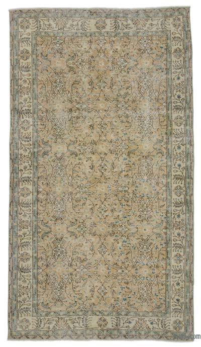 "Turkish Vintage Area Rug - 5' 3"" x 9' 5"" (63 in. x 113 in.)"