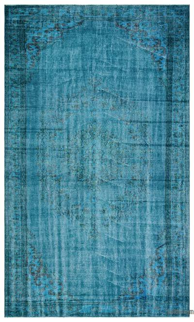 "Over-dyed Turkish Vintage Rug - 5' 9"" x 9' 8"" (69 in. x 116 in.)"