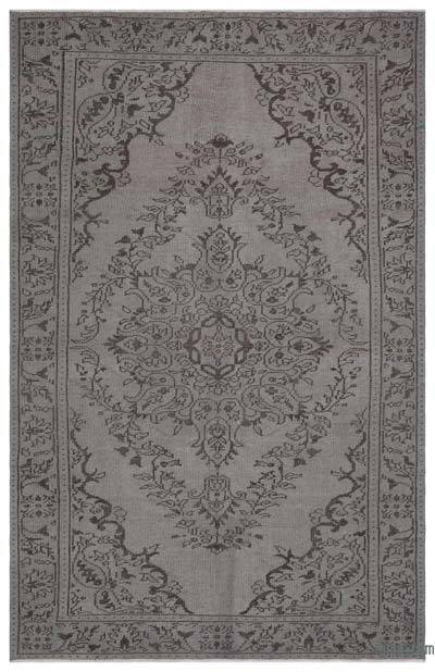 "Over-dyed Turkish Vintage Rug - 5'9"" x 9'1"" (69 in. x 109 in.)"