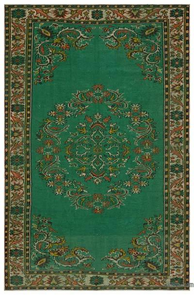 "Turkish Vintage Area Rug - 5' 11"" x 9' 4"" (71 in. x 112 in.)"