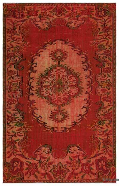"Turkish Vintage Area Rug - 4' 11"" x 7' 10"" (59 in. x 94 in.)"
