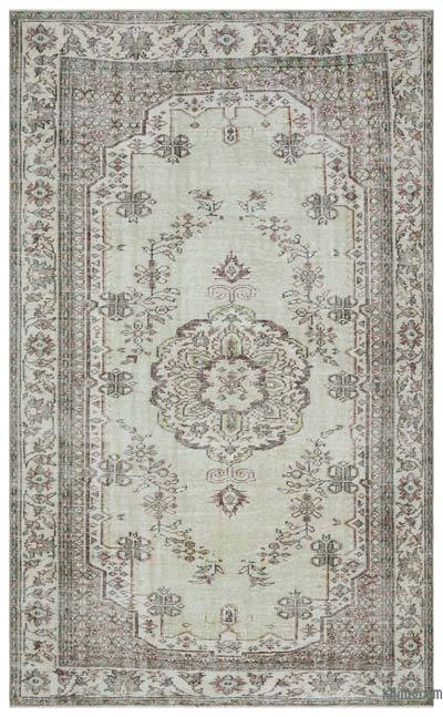 """Turkish Vintage Area Rug - 6'2"""" x 9'9"""" (74 in. x 117 in.)"""