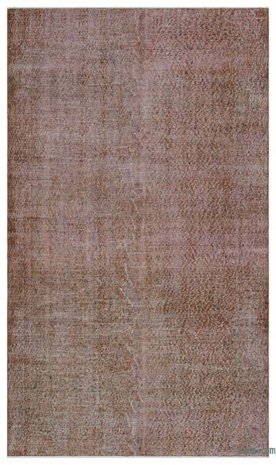 "Over-dyed Turkish Vintage Rug - 4'11"" x 8'4"" (59 in. x 100 in.)"