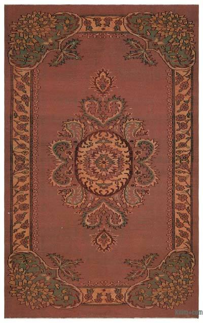 """Turkish Vintage Area Rug - 5'11"""" x 9'9"""" (71 in. x 117 in.)"""