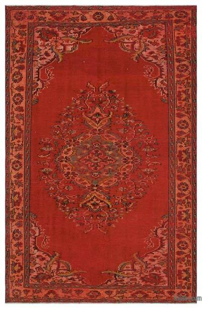 "Turkish Vintage Area Rug - 5' 1"" x 8'  (61 in. x 96 in.)"