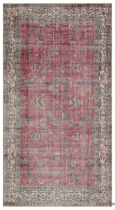 """Turkish Vintage Area Rug - 4'10"""" x 8'10"""" (58 in. x 106 in.)"""