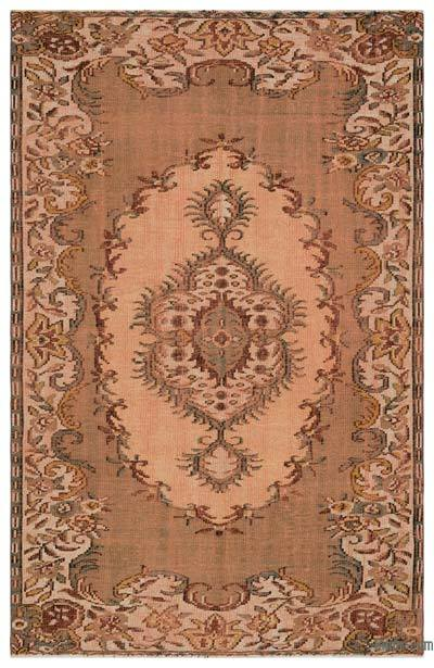 "Turkish Vintage Area Rug - 5' 7"" x 8' 6"" (67 in. x 102 in.)"