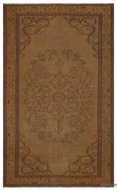 "Over-dyed Turkish Vintage Rug - 4' 11"" x 8' 3"" (59 in. x 99 in.)"