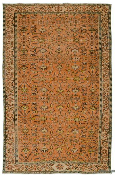 "Turkish Vintage Area Rug - 5'10"" x 8'11"" (70 in. x 107 in.)"