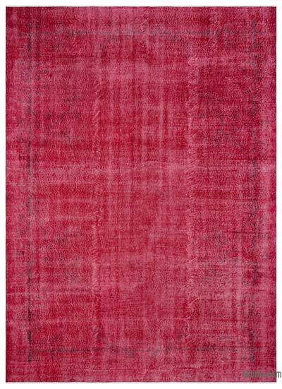 "Over-dyed Turkish Vintage Rug - 7'3"" x 10' (87 in. x 120 in.)"