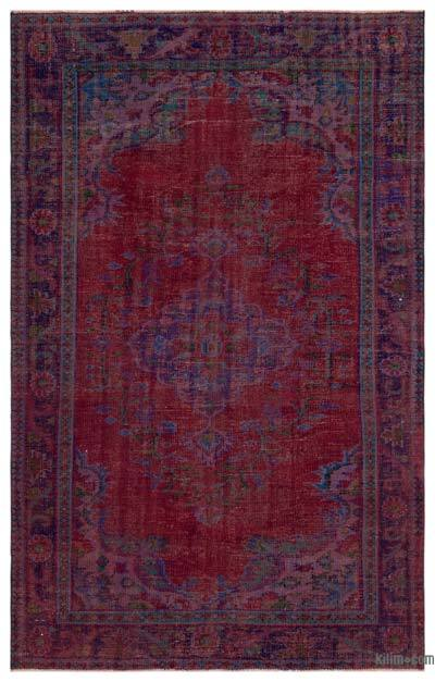 """Turkish Vintage Area Rug - 5' 9"""" x 9'  (69 in. x 108 in.)"""