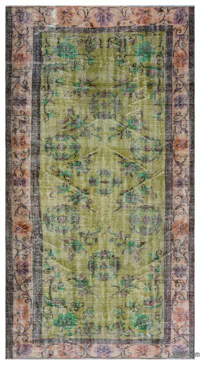 "Turkish Vintage Area Rug - 4'11"" x 9'1"" (59 in. x 109 in.)"