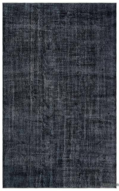 """Over-dyed Turkish Vintage Rug - 6' 5"""" x 10' 6"""" (77 in. x 126 in.)"""
