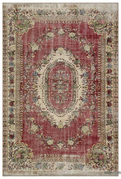 "Turkish Vintage Area Rug - 6' 4"" x 9' 6"" (76 in. x 114 in.)"