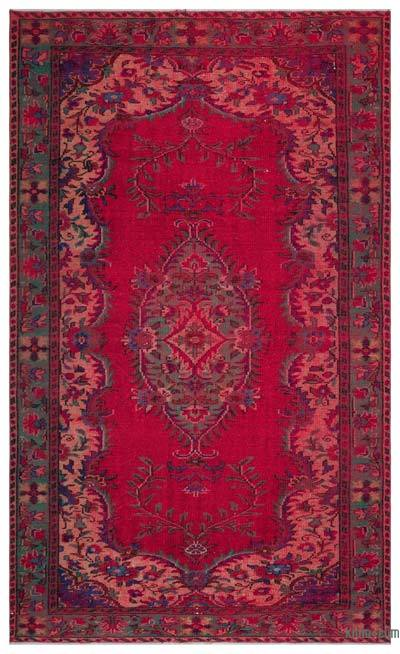 "Turkish Vintage Area Rug - 6'  x 9' 10"" (72 in. x 118 in.)"