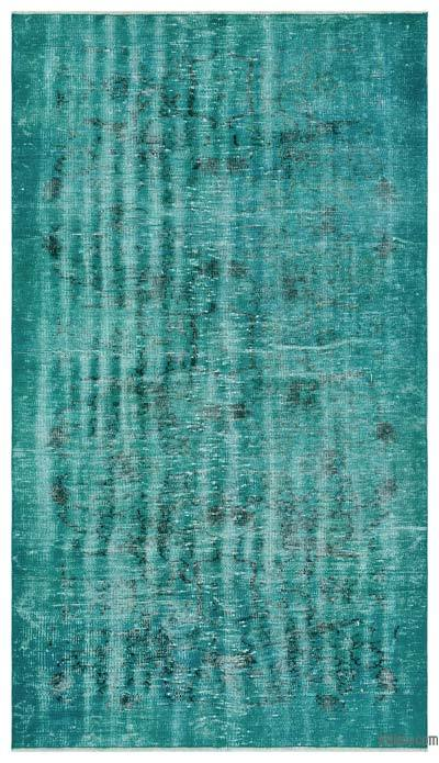 "Over-dyed Turkish Vintage Rug - 4'  x 6' 11"" (48 in. x 83 in.)"