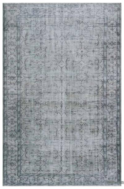 Boyalı El Dokuma Vintage Halı - 180 cm x 276 cm