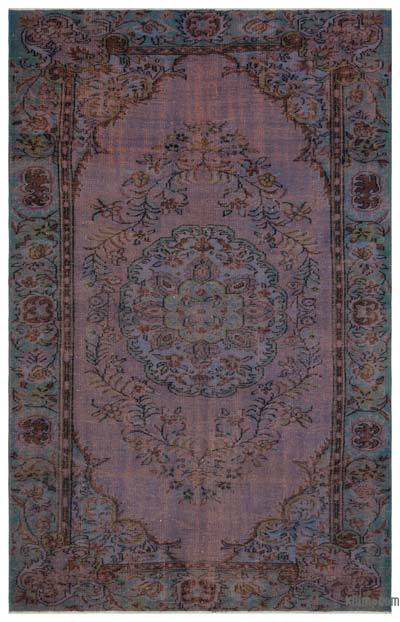 """Turkish Vintage Area Rug - 6' 2"""" x 9' 7"""" (74 in. x 115 in.)"""
