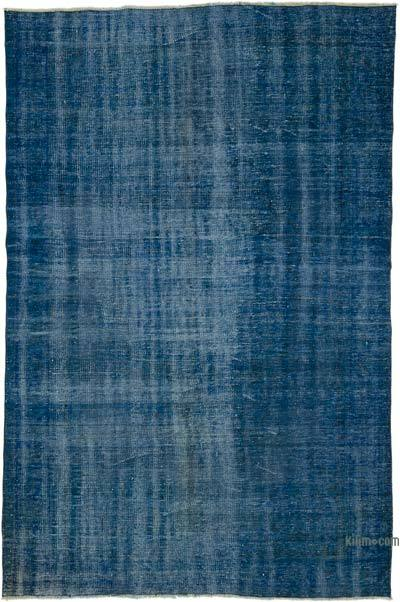 "Over-dyed Turkish Vintage Rug - 6' 2"" x 9' 2"" (74 in. x 110 in.)"
