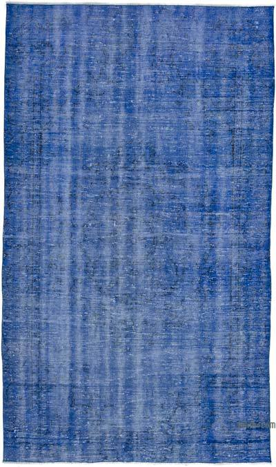 "Over-dyed Turkish Vintage Rug - 4' 9"" x 8' 1"" (57 in. x 97 in.)"