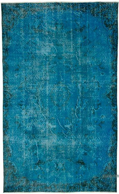 "Over-dyed Turkish Vintage Rug - 5' 3"" x 8' 8"" (63 in. x 104 in.)"