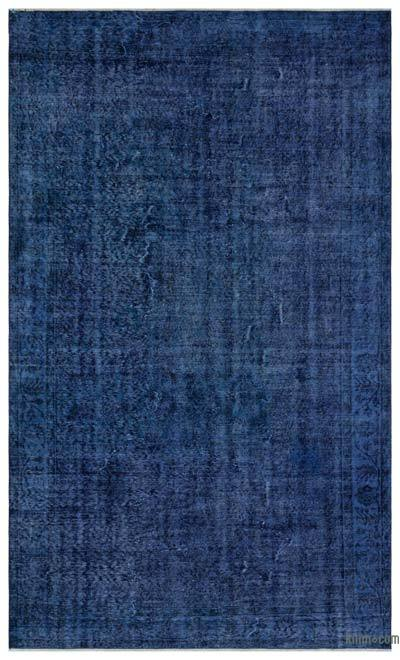 """Over-dyed Turkish Vintage Rug - 5'10"""" x 9'8"""" (70 in. x 116 in.)"""