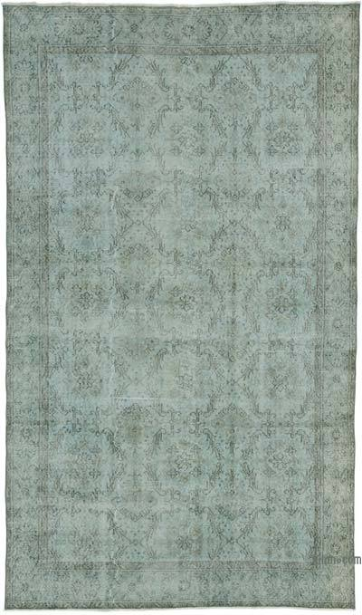 "Over-dyed Turkish Vintage Rug - 5' 7"" x 9' 7"" (67 in. x 115 in.)"
