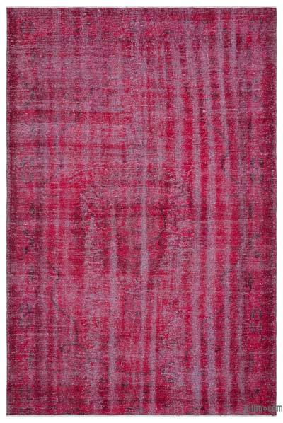 "Over-dyed Turkish Vintage Rug - 5' 9"" x 8' 11"" (69 in. x 107 in.)"