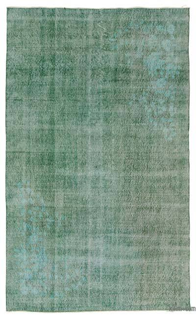 "Over-dyed Turkish Vintage Rug - 5' 3"" x 8' 7"" (63 in. x 103 in.)"