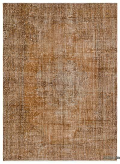"Over-dyed Turkish Vintage Rug - 6'5"" x 8'9"" (77 in. x 105 in.)"