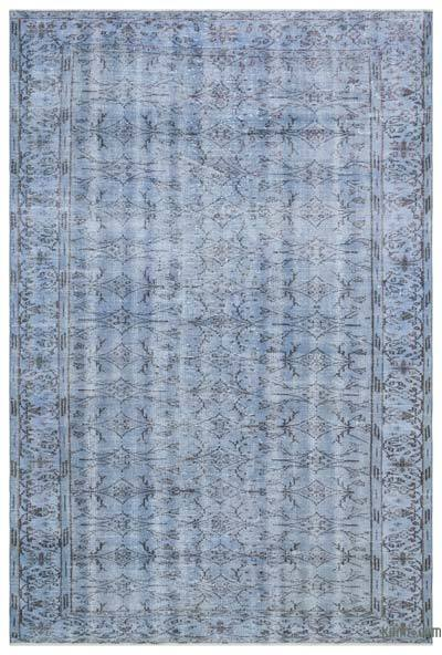 Over-dyed Turkish Vintage Rug - 6' x 9' (72 in. x 108 in.)
