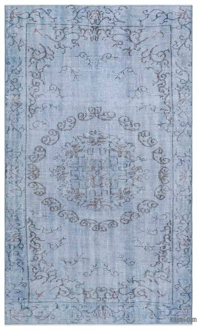 "Over-dyed Turkish Vintage Rug - 5'1"" x 9'1"" (61 in. x 109 in.)"