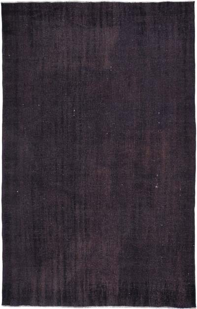 "Over-dyed Turkish Vintage Rug - 5'6"" x 8'7"" (66 in. x 103 in.)"