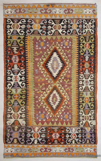 Vintage Çal Kilimi - 150 cm x 260 cm