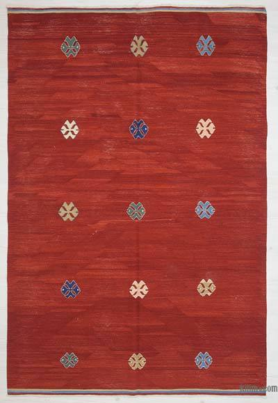 "New Turkish Kilim Rug - 5' 3"" x 7' 10"" (63 in. x 94 in.)"