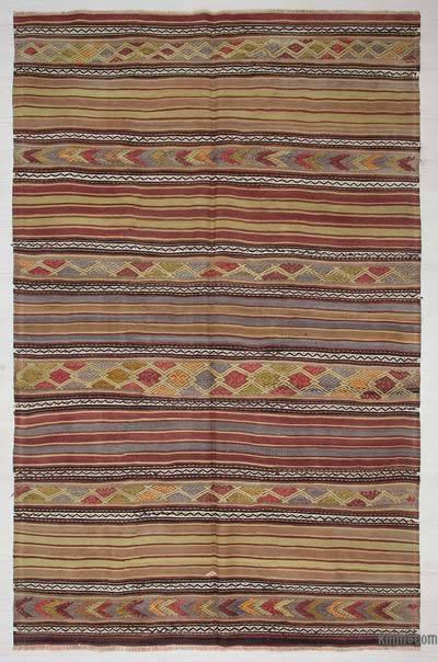 """Vintage Konya Kilim Rug - 5'  x 8' 2"""" (60 in. x 98 in.)"""