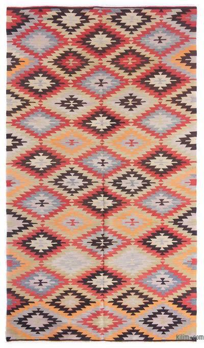 Vintage Afyon Kilim Rug