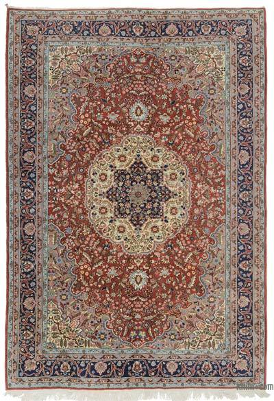 "Turkish Vintage Rug - 6' 8"" x 9' 7"" (80 in. x 115 in.)"