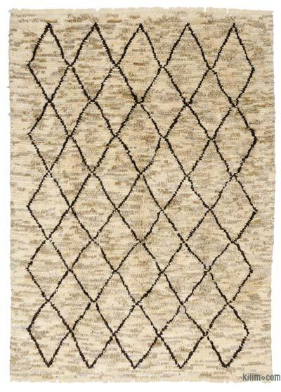 "New Turkish Tulu Rug - 7'7"" x 10'4"" (91 in. x 124 in.)"