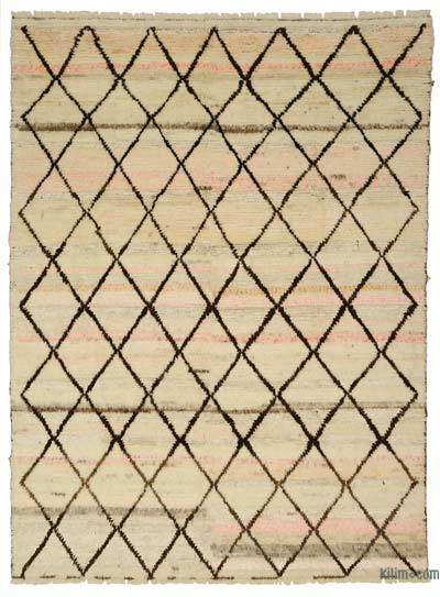 New Turkish Tulu Rug - 9' x 12' (108 in. x 144 in.)