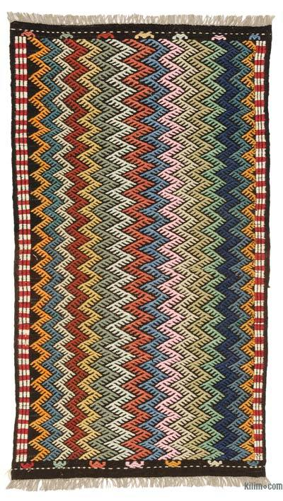 "New Turkish 'Zili' Rug - 3' 3"" x 6'  (39 in. x 72 in.)"