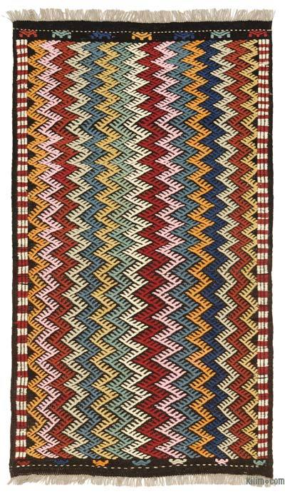 "New Turkish 'Zili' Rug - 3' 5"" x 6'  (41 in. x 72 in.)"