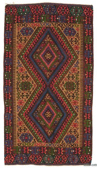 Alfombra Vintage Fethiye Kilim - 130 cm x 236 cm