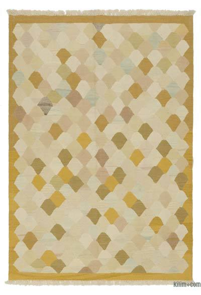 "New Handwoven Turkish Kilim Rug - 4'3"" x 6' (51 in. x 72 in.)"